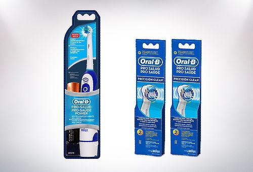 Cepillo Eléctrico Pro Salud Oral-B + 2 Repuestos