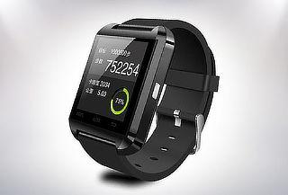 Smartwatch U8 para Android y iPhone Negro
