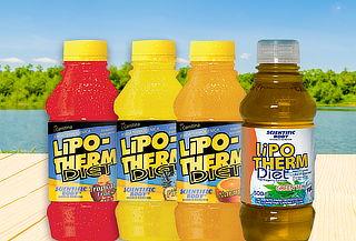 Pack de 24 Bebidas Lipo-Therm Diet Diferentes Sabores