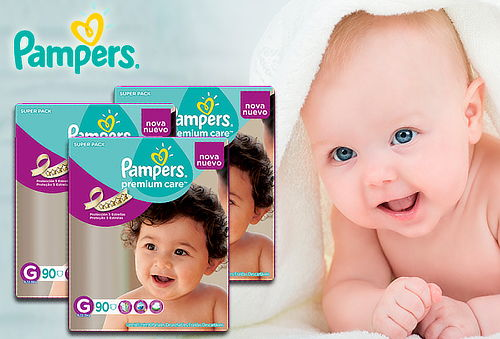 Pack 3 Pampers Premium Care Talla G