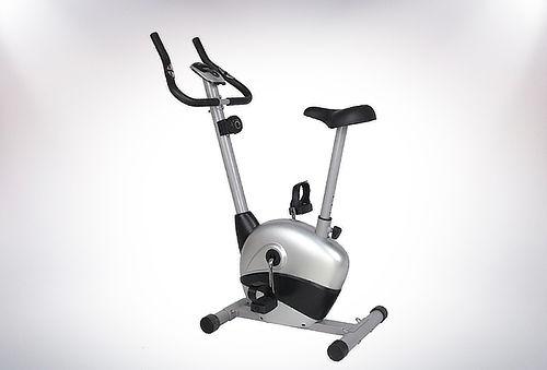 Bicicleta Estática 8 Niveles con Monitor LCD