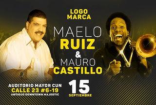 Concierto de salsa Mauro Castillo y Maelo Ruiz