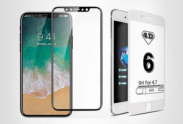 Vidrio 4D iphone + Instalación