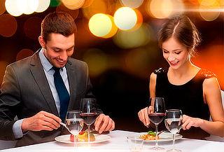 Cena Romántica para 2 Personas en Hotel Lancaster House