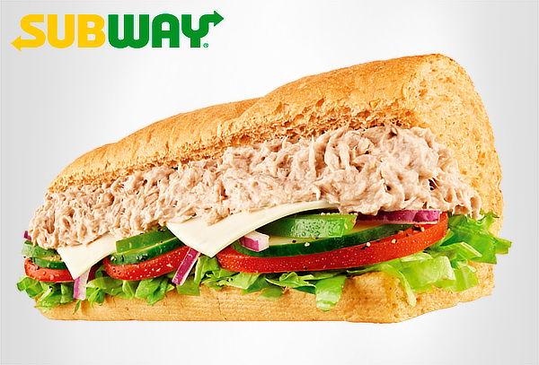 SUBWAY: 13 Opciones de Sándwich + Papas + Bebida en 25 Sedes