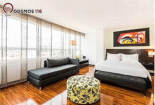 Hotel Cosmos 116: Noche Romántica en Suite + Cena