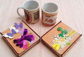 Cofre, Llavero y Mug Personalizado