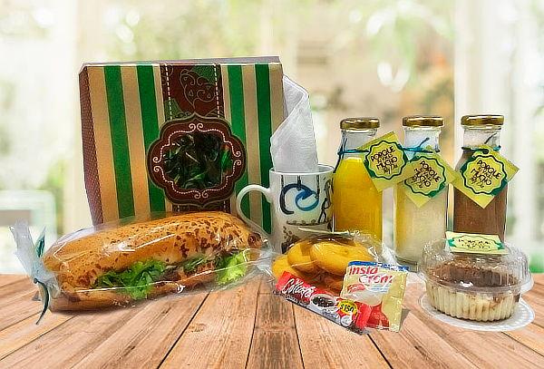 Desayuno u Onces Sorpresa + Domicilio Incluido