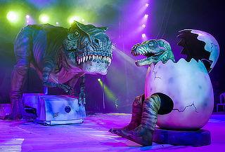 Circo Gigante de Dinosaurios, Ubicación a Elección