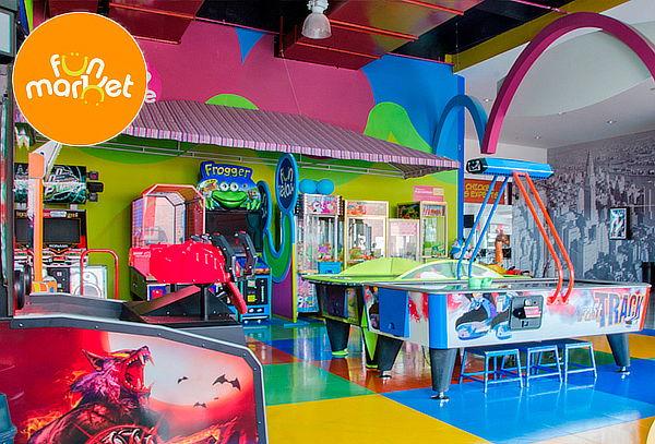 Recargas para Juegos en Fun Market Unicentro y San Rafael