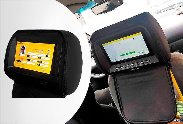 Instalación de Cabeceros o Tablets para Taxis Inteligentes