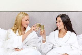 Spa Para 2 Amigas + Copa de vino