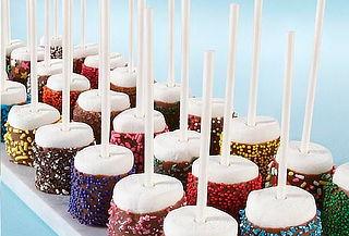 Caja de Masmelos o Fresas Decoradas para Eventos