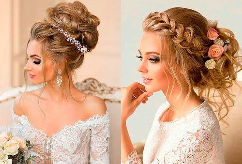 Peinados de pajecitas y novias