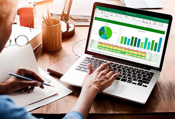 Curso Online de Cuatro Niveles Completos de Excel