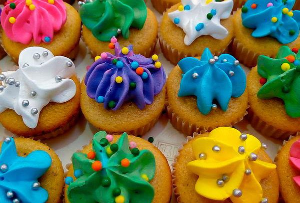 144 Mini Cupcakes Con Tonos a Elección