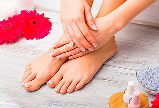 Manicure Tradicional + Pedicure Tradicional + Sales