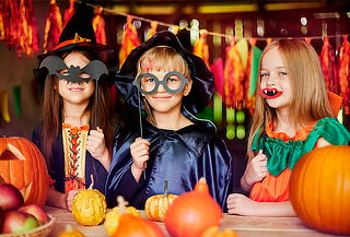 Fiesta Halloween para 20 o 30 Niños