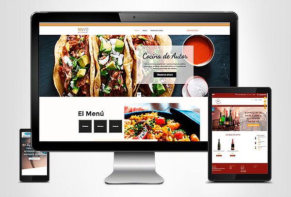 Diseño de Sitio Web Original