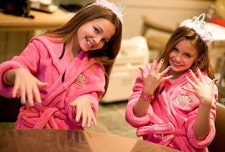 Spa de Princesas para 1 o 2 Niñas y Mamá en Unicentro