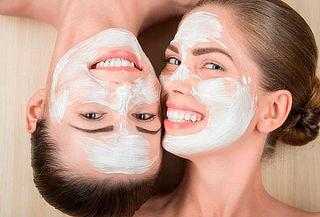 Spa Facial para 2 Amigas + Mascara Led y Bioestimulación