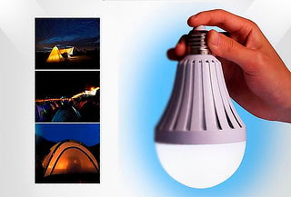 Bombillo LED Recargable Portátil