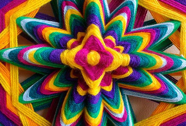 Taller de Mandalas Tejidos Terapeutas