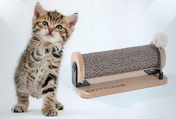 Rascador Rodillo Ecológico para Gato