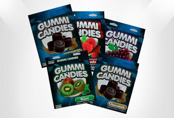 Pantys + Brasieres Comestibles Gummi Candies