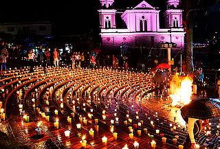 Festival de Luces y Faroles en Villa de Leyva, 7 ó 8 de Dic.