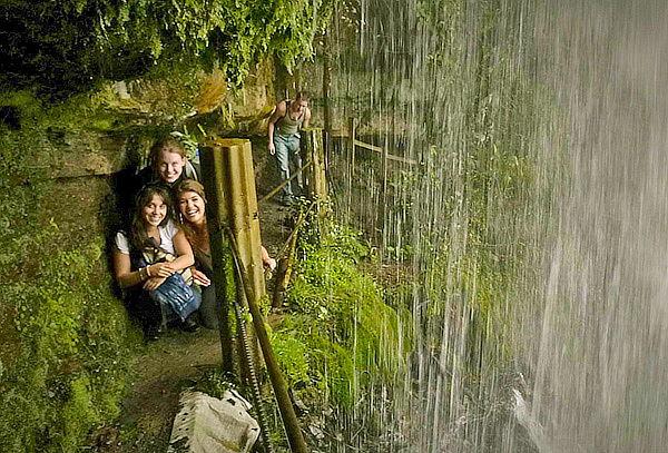 Caminata a La Cascada La Chorrera, Choachi. 11 de Noviembre