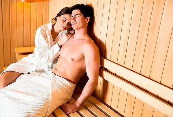 Spa en Pareja con Sauna y Copa de Vino en Shaio