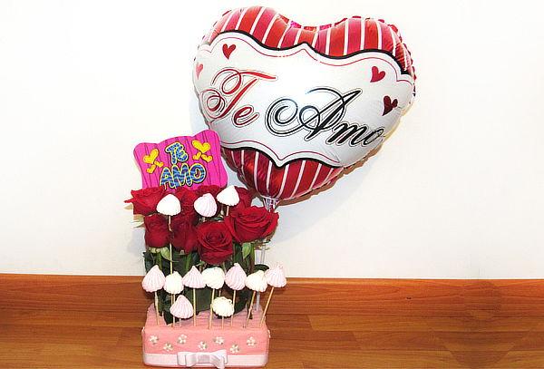 Rosas Rellenas de Amor + Domicilio
