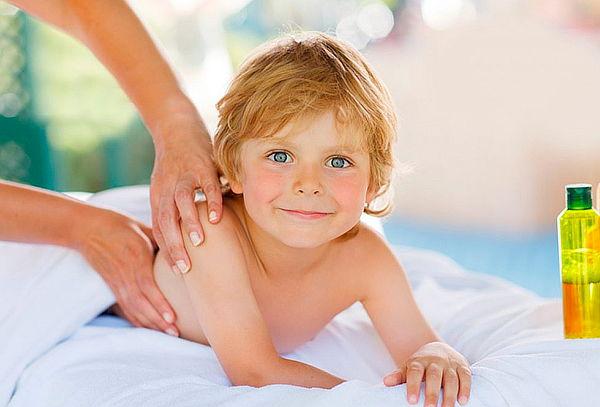 Masaje de Relajación Control Ansiedad para Niños en el Chico