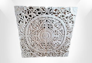 Mandala Tallada Vintage