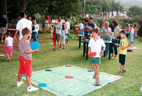 Fiesta Infantil Extrema y Deportiva, Plan Animación