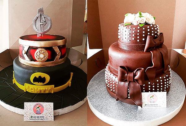 Torta Temática para 30 Porciones, Obsequio 6 Mini Cupcakes