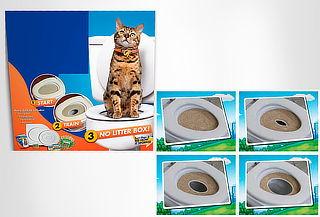 Baño de Entrenamiento para Gatos