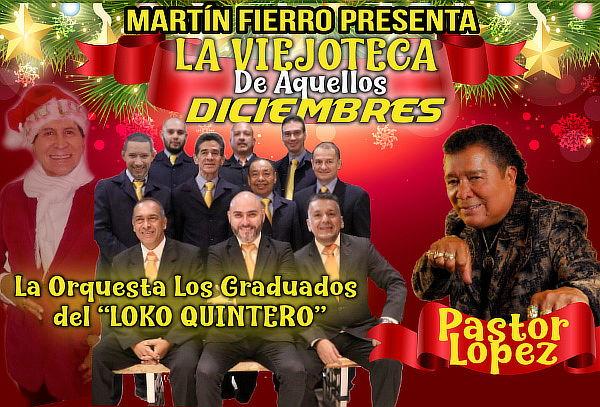 Viejoteca con Pastor López, Orquesta Los Graduados