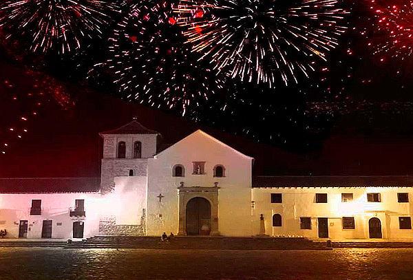 Festival De Luces Villa De Leyva  08 de Diciembre 2018