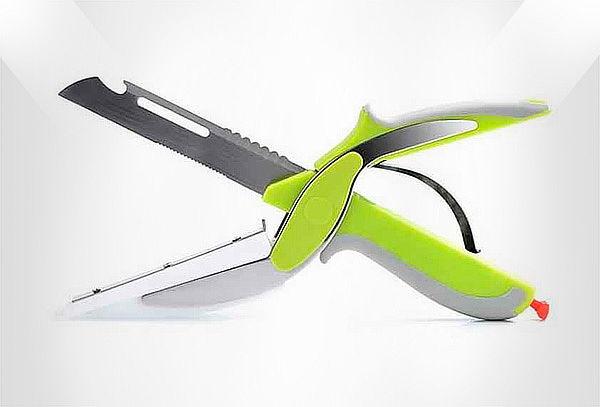 Cuchillo 6 en 1 Clever Cutter