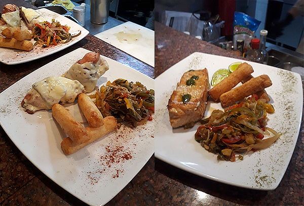 Menú para 2 Personas en Restaurante el Mirador Charlotte