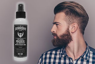 Minoxidil Spray para el Crecimiento de la Barba y Cabello
