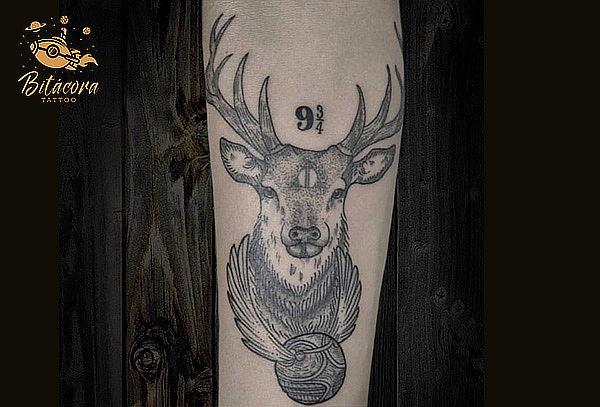 Sesión de 4 Horas de Tatuaje en Bitacora Tattoo