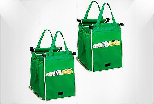 Bolsas Reciclables Set x2 Re Utilizables Para Mercado