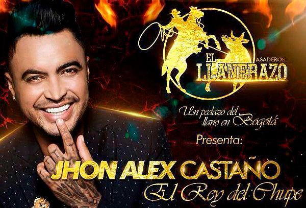 2x1 Concierto Jhon Alex Castaño 9 de Noviembre