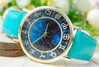 Reloj Zodiacal Turquesa