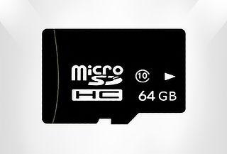 Micro SD de 64 GB Clase 10 Kingston