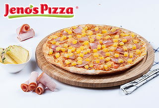 2 Pizzas Medianas Delgadas con Gaseosas