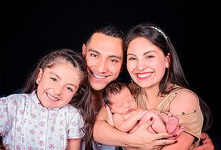 Sesión Fotográfica para Familia + Retablo 20x30 en Pasadena